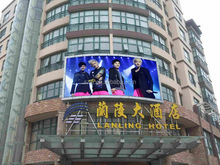 3 in1 full color outdoor P8 perimeter advertising led billboard module display