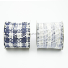 Wide Decorative Paper Mesh Ribbon