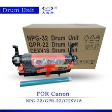 China drum unit supplier for NPG-32/ CEXV18 for Canon copier IR1018 1019
