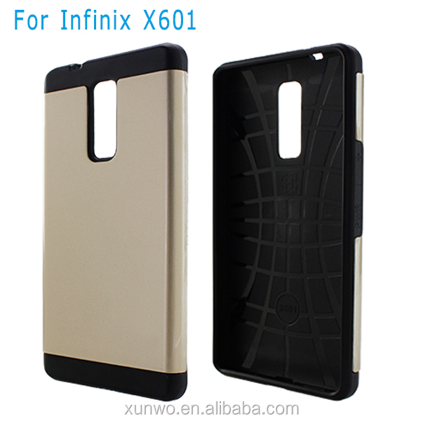 Factory direct sale South Korea fashion slim armor case for infinix x601