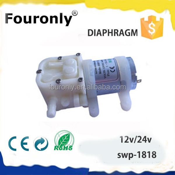 Fouronly SWP-1818 dc 24v spare parts electric small water pump motor price