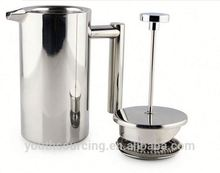 Stainless Steel double wall mini coffee pot