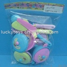 Children plastic kitchenware,toys kitchen play set