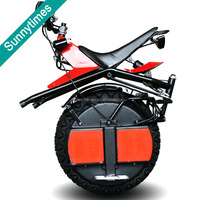 sunnytimes 60V single wheel electric scooter one wheel motorcycle with foldable pedals