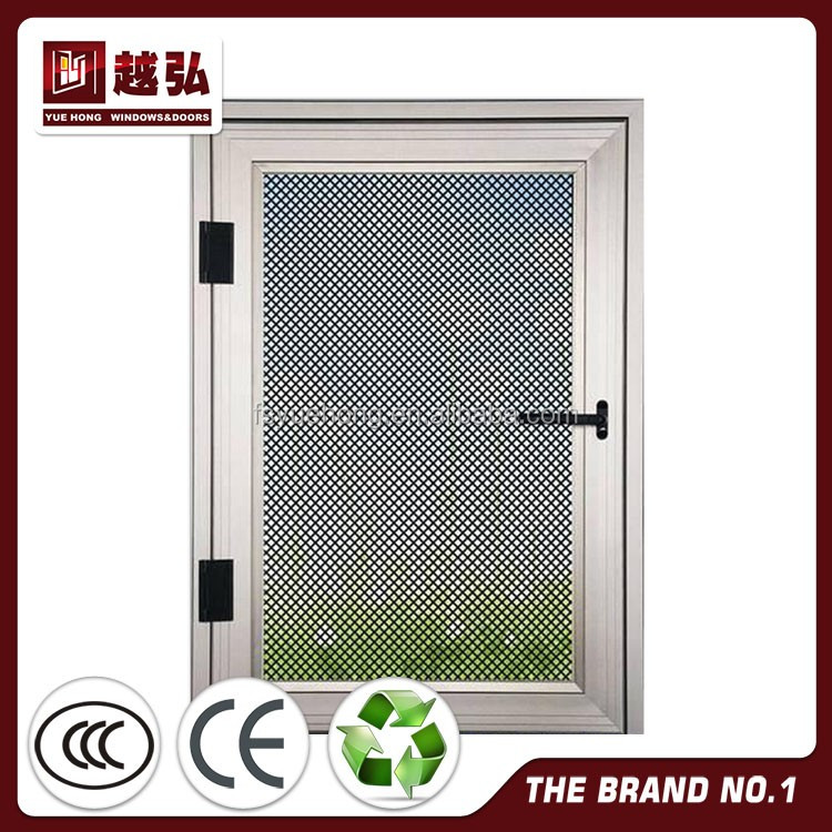 NDR-WN029 fly bathroom window screens with Stainless steel