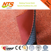 IAAF approved rubber track and field surface for sports court