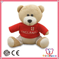 ICTI Factory high quality stuffed promotion plush animal
