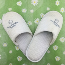 Private label men indoor slipper for hotel