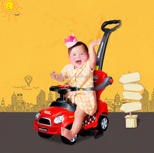 model ZLG-321 good baby toys cars pushing Foot to floor children cheap price kids swing car ride on toys