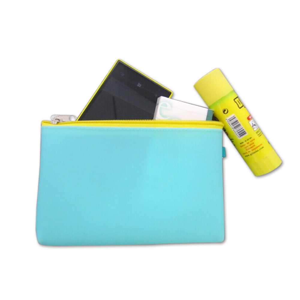 Cosmetic bag portable makeup bag for travelling silicone cosmetic makeup bag wholesale