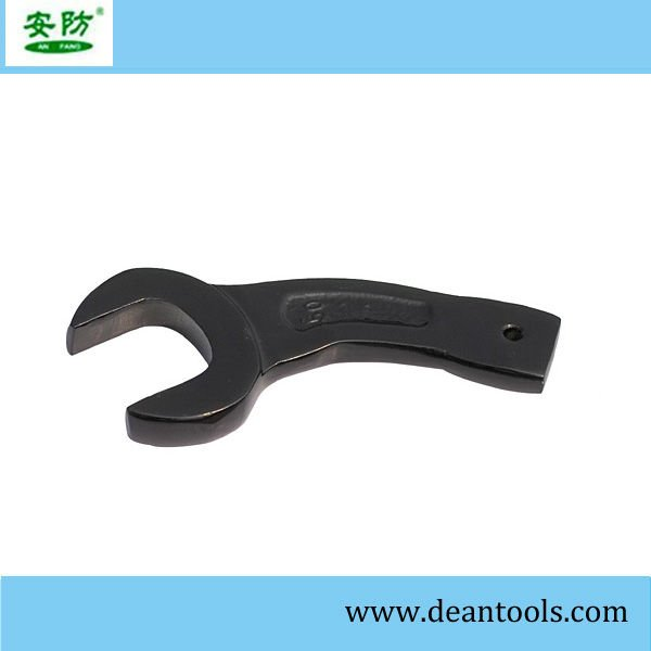 bent handle striking open end wrench,bent slogging wrench