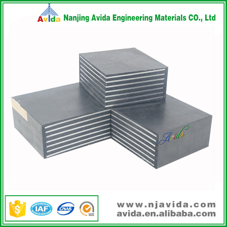 Bridge Construction Projects Using Vulcanized Rubber Bearing Pad