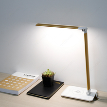 Energy Saving Wireless Charging Lamp Factory Table Desk Lamp With USB Port