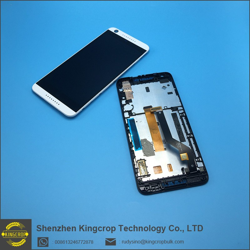 100% Original! For HTC desire 626 626G LCD display screen & touch screen digitizer with frame Black,white or blue