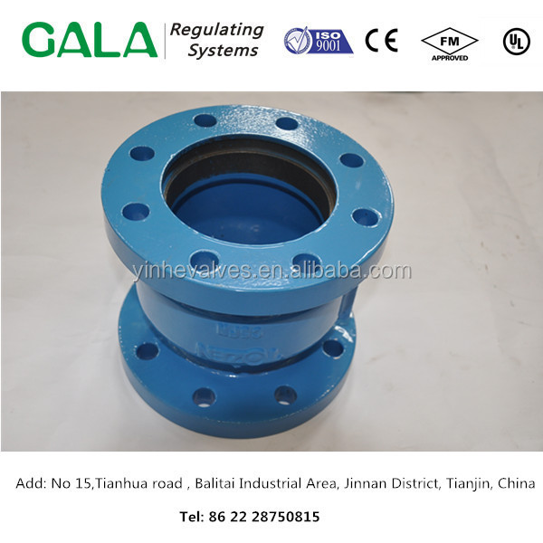 China foundary offer OEM high quality cast iron flange valve parts