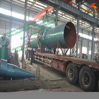 Supply rotary drum dryer for all of the component parts of the dehydration system including the burner, furnace, cyclone,