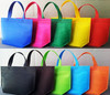 Reusable colored pp non woven fabric used to make gift shopping bag