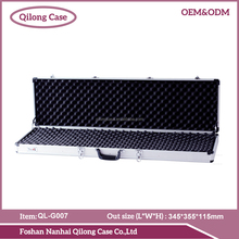 Customized sheet /PVC Leather/ aluminum rifle case hard