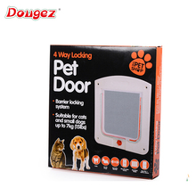 Factory hot Pet door ,Dog and cat door /4 ways pet door /cat flap