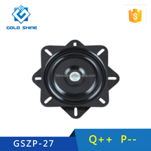 High quality 6.5 inch ball bearing turntable&barstool square swivel plate