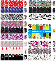 2015 USA Hot Selling Nail Polish Wraps