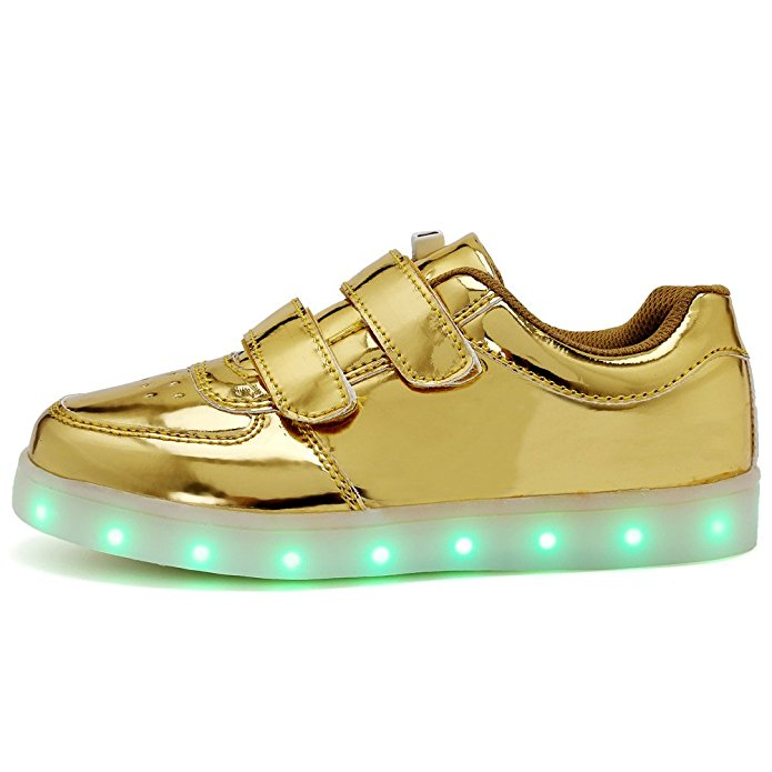 Fashion 7 colors led light shoes,led flash lovers casual sport shoes