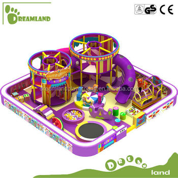 Circus theme indoor amusement park equipment, kids soft indoor play equipment