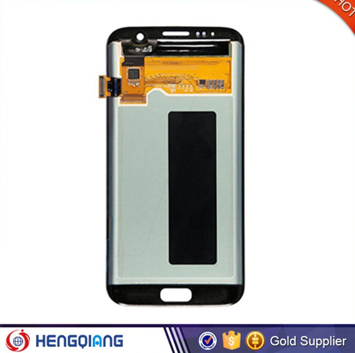 OEM LCD screen for samsung S7 edge, LCD digitizer touch for samsung S7 edge,Mobile Phone Complete LCD for samsung S7 edge