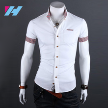 latest shirt designs for men casual custom cotton dress shirt Camisa Flannel long sleeve shirt