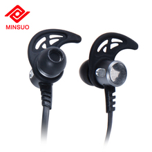 Amazon hot sale retractable mini wireless bass bluetooth earphone