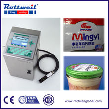 Food packaging inkjet printer