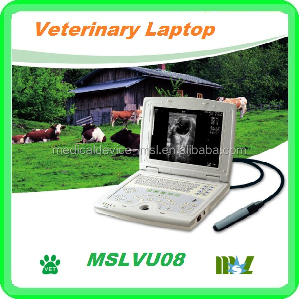 Practical laptop veterinary ultrasound for various kinds of small&big animals: Bovine, equine, cat,dog, pig, sheep etc.