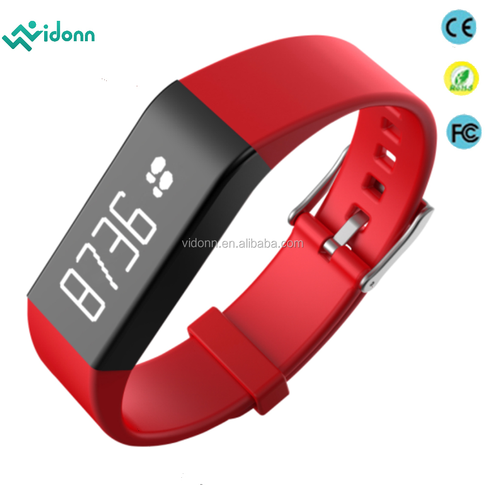new product hot factory price smartband heart rate monitor IP68 waterproof pedometer bracelet