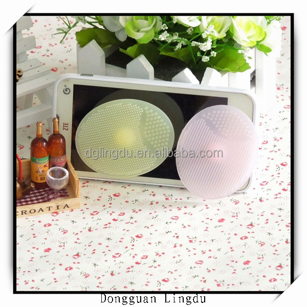 Baby shampoo Mother wash a face good tool Wash a face to brush silicone makeup brush