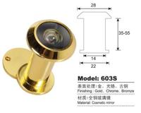 brass door viewer / peephole viewer with cover HI-603