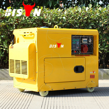 BISON(CHINA) Wholesale 3kw 3000 Watt Air Cooled Portable 3 Phase Generator Diesel 3kva With Price
