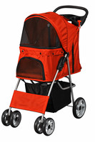2016 4 wheels luxury pet stroller/pet carriers/dog stroller