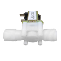 "Best DC 12V Electric Solenoid Valve 1/2"" N/C Normally Closed Plastic Water Air Inlet Flow Switch for Mega 2560"