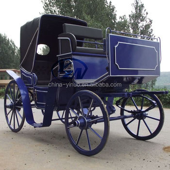 Yizhinuo Sightseeing horse carriage for wedding horse wagon tourist carriage