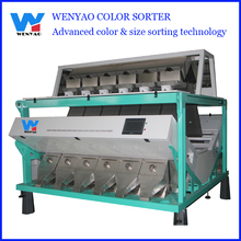 low energy consumption electronic CCD pulse bean color sorter machine