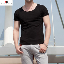 Simple designer short sleeve plain t shirts free samples