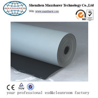 Grey esd mat roll for electronic factory