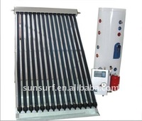 Solar Keymark SRCC CE Haining Separated High Pressure Vacuum Tube Solar Water Heater System with heat pipe