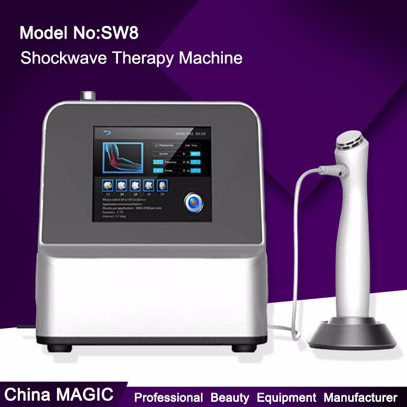 Shockwave physical therapy equipment used