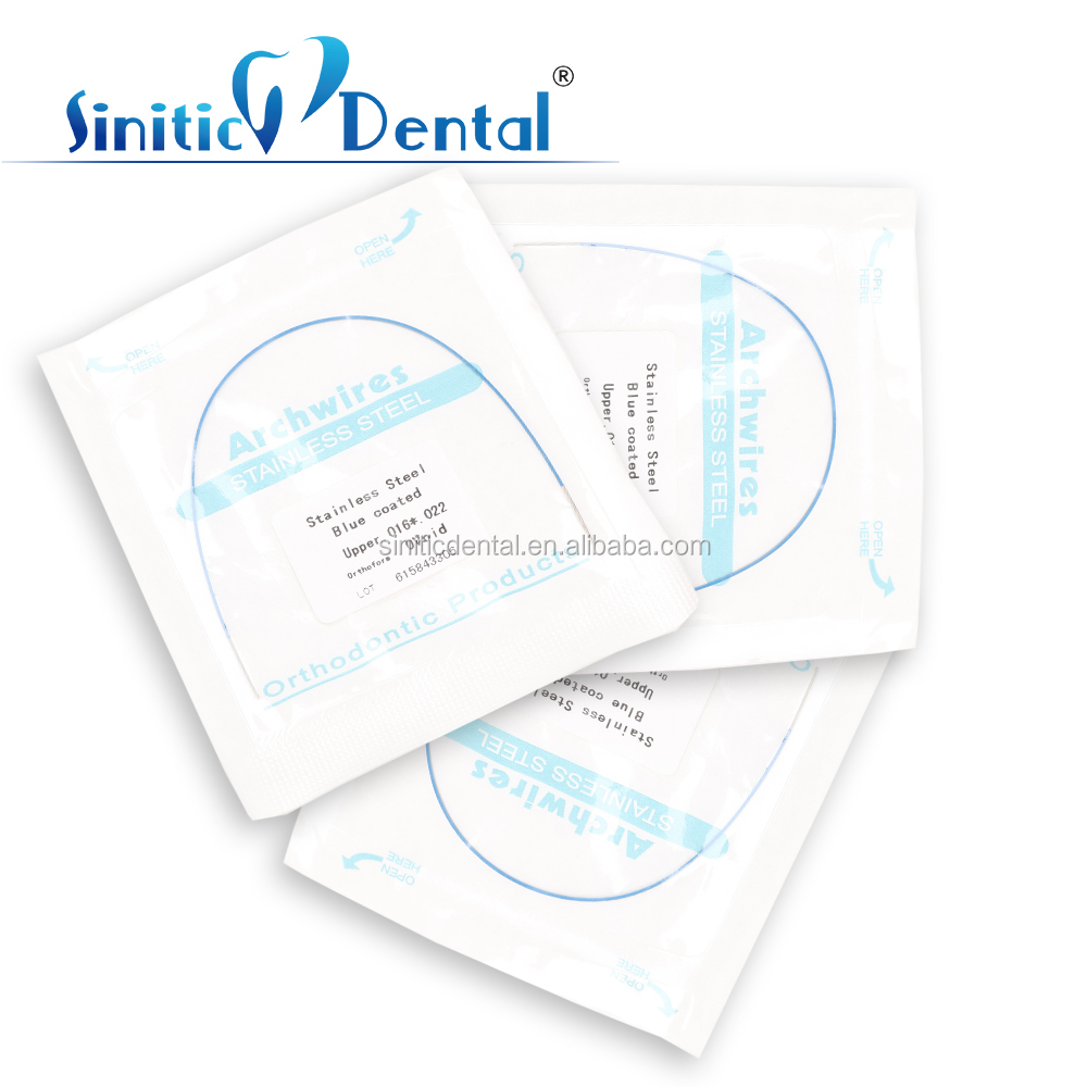 Factory Sinitic Dental Sale Orthodontic Tooth Arch Wire Dental Products