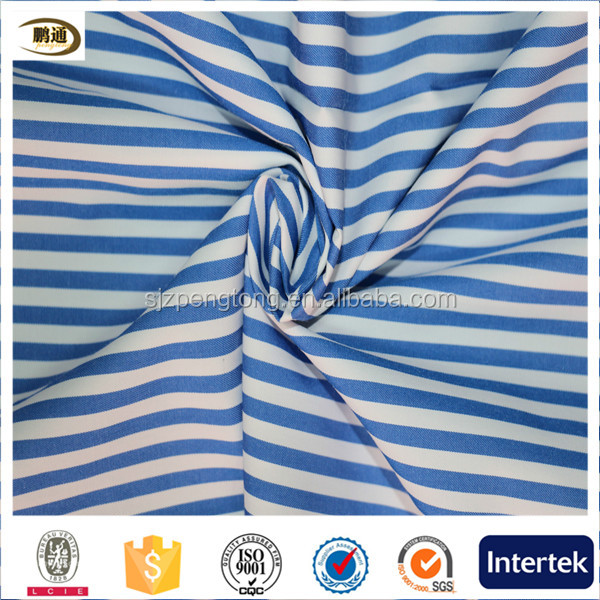 cotton fabric stripe shirt fabric and textile