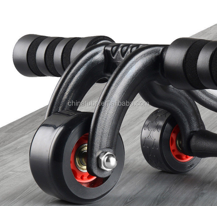 New arrival PU wheel slimming stable six pack gym roller