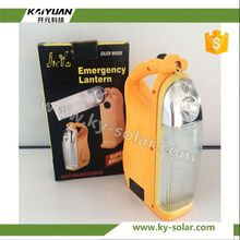 Portable hand-held emergency led light with built-in battery hiking