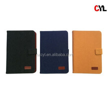 Denim cover for ipad/ Applicable to all 7-inch Tablet PC/ Leather case for samsung