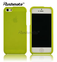 Neon Green Hard Crystal Case Cover For Apple iphone 5G